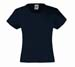 Girls Valueweight T kleur 1 Girls Valueweight T